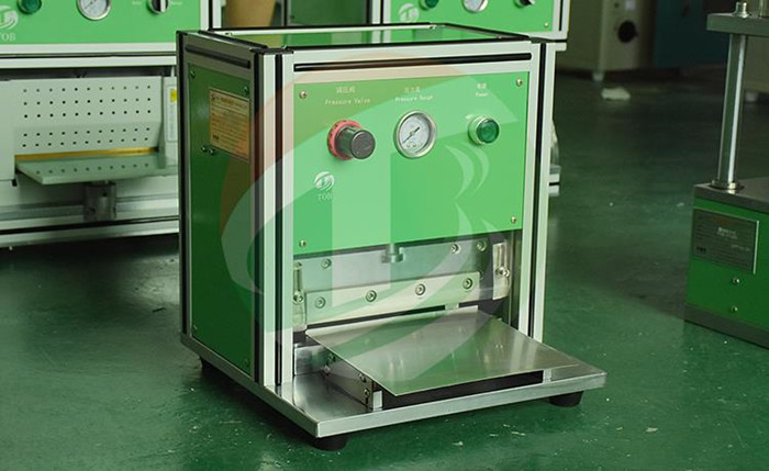 Pneumatic Battery Edge Cutting Machine For Lab