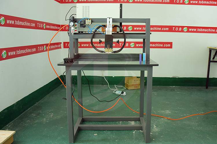 Cylindrical Lithium Ion Battery Pack Welding Machine