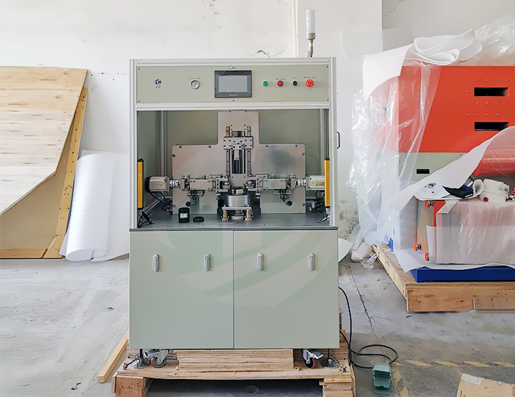 Supercapacitor sealing machine