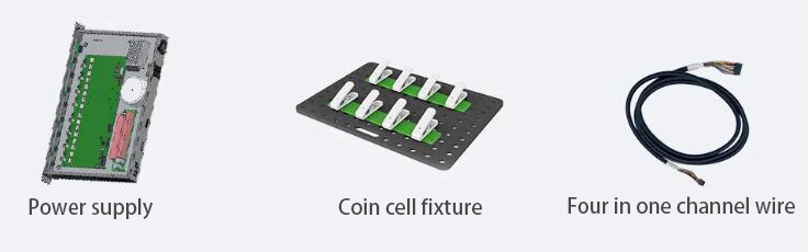 Coin cell fixture