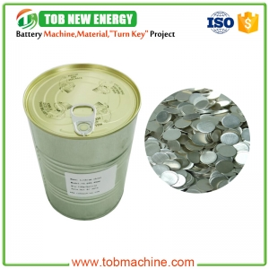 coin cell lithium chip