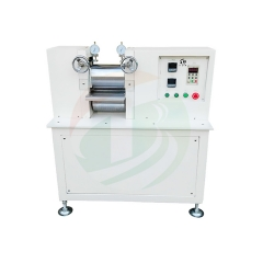 chine leader Machine de presse à chaud en rouleau Φ150 * 200mm pour électrode de batterie fabricant