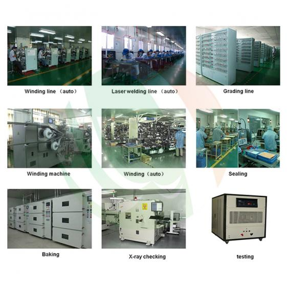 Cylindrical Cell Production Line