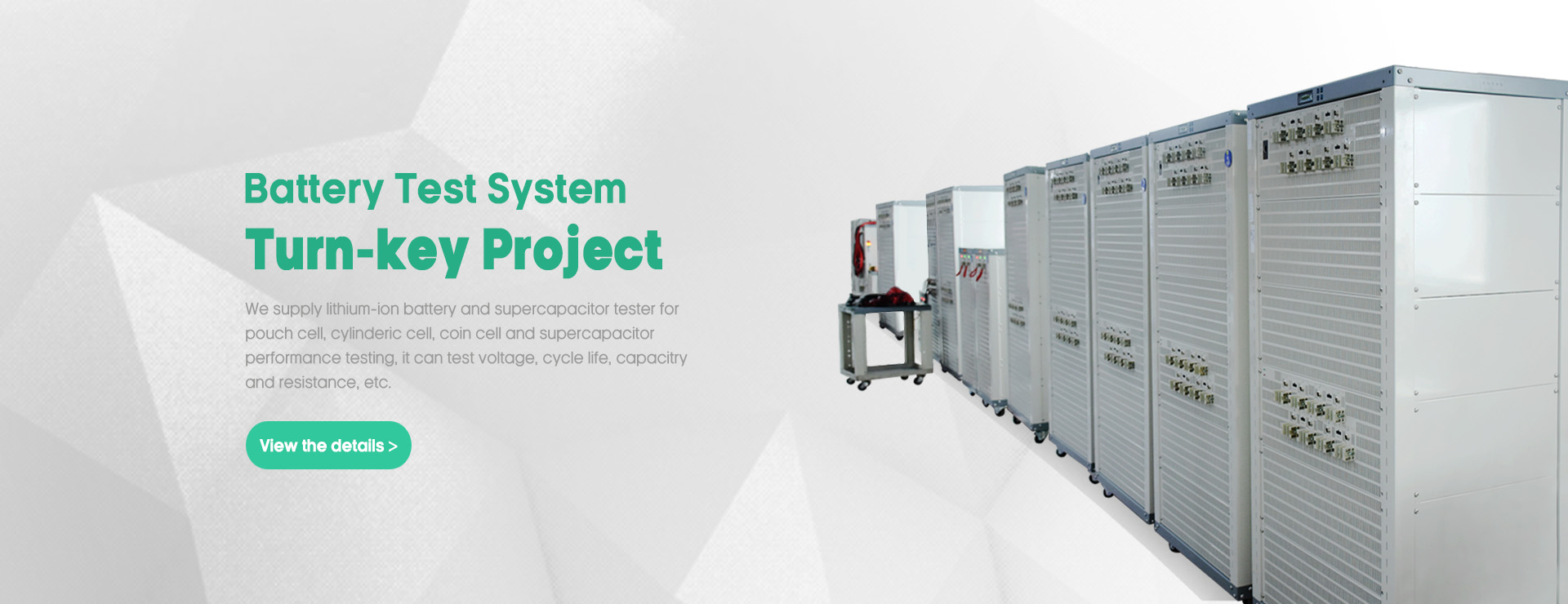 Lithium Battery Testing System